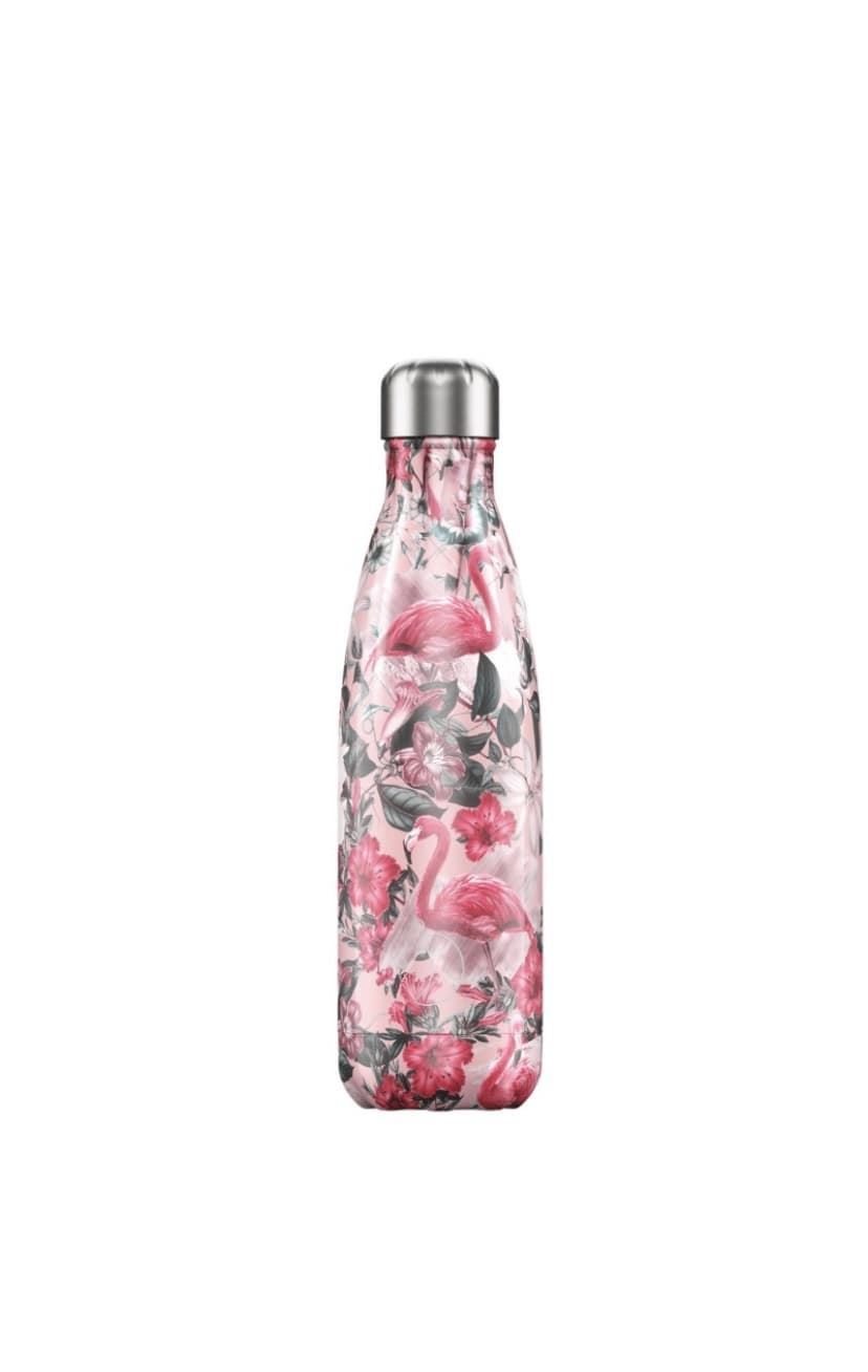 Botella Chilly's 500ml tropical flamenco - Imagen 1